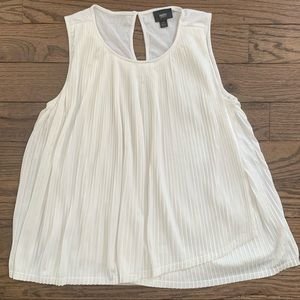 Mossimo Pleated Drapey Wrap Tank Top • size XS